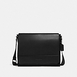 HOUSTON MESSENGER - BLACK/BLACK ANTIQUE NICKEL - COACH F68017