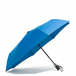 COACH HERITAGE SIGNATURE RETRACTABLE UMBRELLA - ONE COLOR - F68036