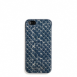 COACH SNAKE PRINT IPHONE 5 CASE - ONE COLOR - F68057
