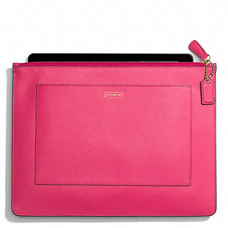 COACH DARCY LEATHER LARGE TECH POUCH -  - f68077