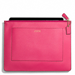 DARCY LEATHER LARGE TECH POUCH COACH F68077
