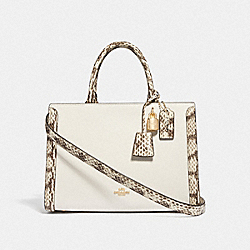 ZOE CARRYALL - CHALK MULTI/IMITATION GOLD - COACH F68293