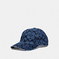 SIGNATURE HAT - DENIM - COACH F68403