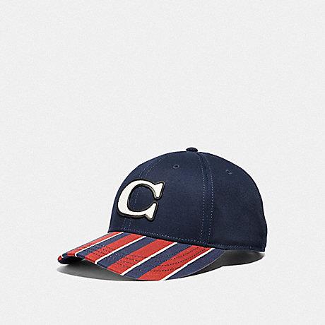 COACH AMERICANA FLAG CAP - NAVY - F68795