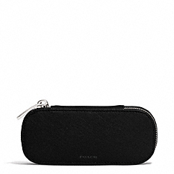 COACH LEXINGTON SAFFIANO LEATHER GLASSES CASE - ONE COLOR - F69703