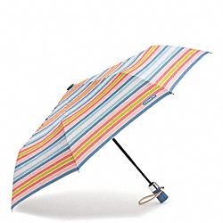 COACH PEYTON MULTISTRIPE UMBRELLA - ONE COLOR - F69726