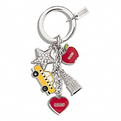 COACH NYC MULTI MIX KEY CHAIN - ONE COLOR - F69936