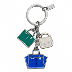 COACH HANDBAGS MIX KEY RING - ONE COLOR - F69938