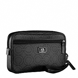 COACH MULTIFUNCTION TRAVEL CASE - ONE COLOR - F70301