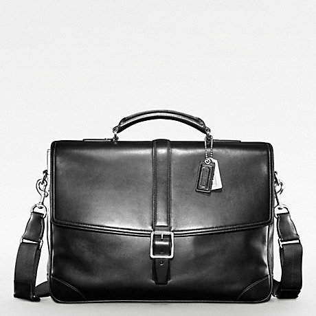 COACH TRANSATLANTIC FLAP BUSINESS BRIEF -  - f70304