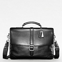 COACH TRANSATLANTIC FLAP BUSINESS BRIEF - ONE COLOR - F70304