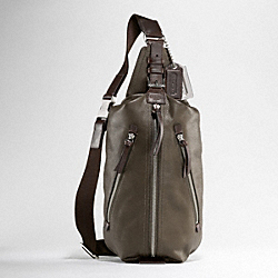 THOMPSON LEATHER SLING PACK COACH F70360
