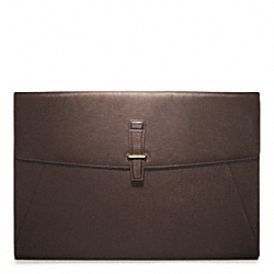 COACH CROSBY LEATHER PORTFOLIO - ONE COLOR - F70479