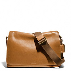 COACH BLEECKER LEATHER COURIER BAG - ONE COLOR - F70486
