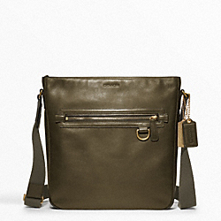 COACH BLEECKER LEATHER FIELD BAG - ONE COLOR - F70488
