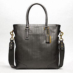 BLEECKER EMBOSSED TOTE