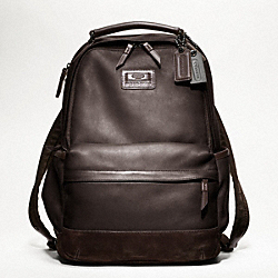 COACH RIVINGTON LEATHER BACKPACK - ONE COLOR - F70533