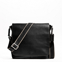 HERITAGE WEB LEATHER MAP BAG
