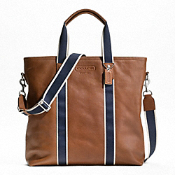 HERITAGE WEB LEATHER UTILITY TOTE
