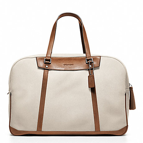 COACH BLEECKER CANVAS TRAVEL DUFFLE -  - f70645