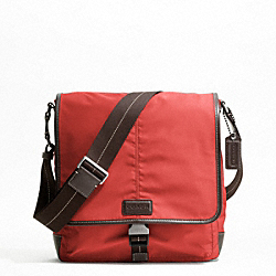VARICK NYLON MAP BAG