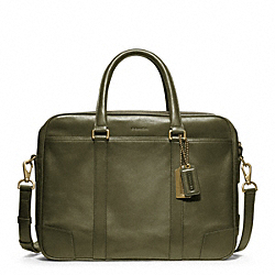 COACH BLEECKER LEATHER COMMUTER - ONE COLOR - F70777