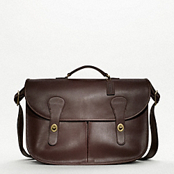 COACH COACH ORIGINALS MESSENGER BRIEF - ONE COLOR - F70798
