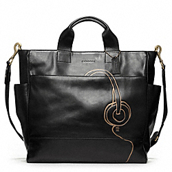 COACH HUGO GUINNESS UTILITY TOTE - ONE COLOR - F70801