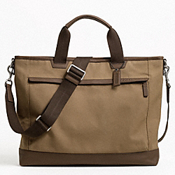 COACH CAMDEN CANVAS SUPPLY BAG - ONE COLOR - F70828