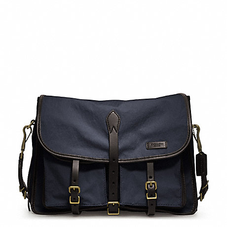 COACH BLEECKER TOUGH CANVAS MESSENGER -  - f70854