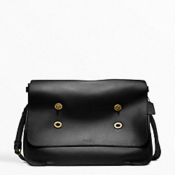 COACH LEGACY LEATHER LARGE MESSENGER - ONE COLOR - F70861