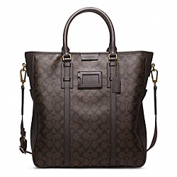 COACH BLEECKER SIGNATURE MONOGRAM TOTE - ONE COLOR - F70872