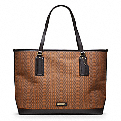 COACH BLEECKER WOVEN MARKET TOTE - ONE COLOR - F70893