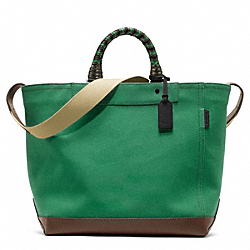 COACH BLEECKER BEACH CANVAS TOTE - ONE COLOR - F70897