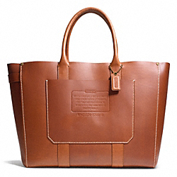 RUSTIC LEATHER TOTE COACH F70915