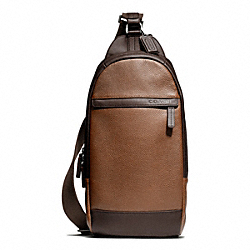 COACH CAMDEN LEATHER CONVERTIBLE SLING - ONE COLOR - F70922
