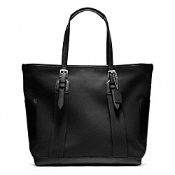 COACH BLEECKER CITY CANVAS CITY TOTE - ONE COLOR - F70963