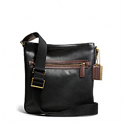 COACH BLEECKER HARNESS LEATHER FIELD BAG - ONE COLOR - F70991