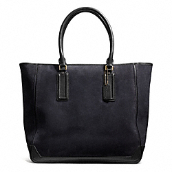 COACH BLEECKER SUEDE TRAVELER TOTE - ONE COLOR - F71100