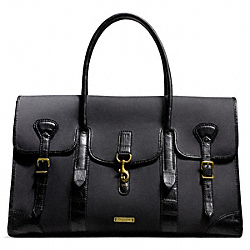 COACH + BILLY REID DAY BAG IN ARCHIVAL TWILL - BLACK - COACH F71126