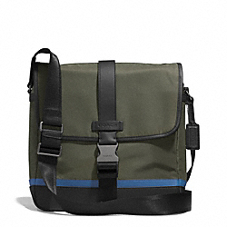 VARICK NYLON MAP BAG COACH F71142