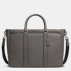 LEXINGTON SAFFIANO METROPOLITAN TOTE - SV/STERLING - COACH F71252