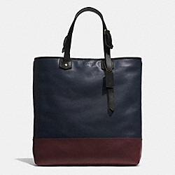 BLEECKER SHOPPER IN COLORBLOCK LEATHER - B4D23 - COACH F71395