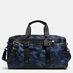 COACH VARICK GYM BAG IN NYLON - NAVY/BLACK - F71528