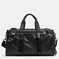 COACH VARICK GYM BAG IN LEATHER - BLACK - F71531