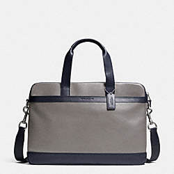 HUDSON BAG IN SMOOTH LEATHER - ASH - COACH F71561