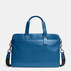 HUDSON BAG IN SMOOTH LEATHER - DENIM - COACH F71561