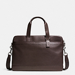 HUDSON BAG IN SMOOTH LEATHER - MAHOGANY - COACH F71561