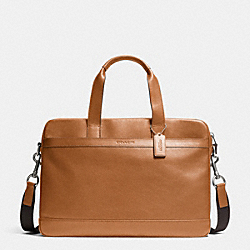 HUDSON BAG IN SMOOTH LEATHER - SADDLE - COACH F71561