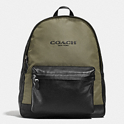 CAMPUS BACKPACK IN NYLON - EBC - COACH F71674